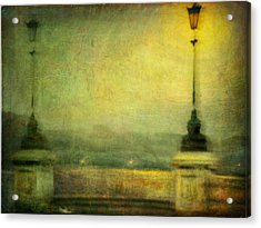 Acrylic Print featuring the photograph Cityscape #29. Parisienne Walkways by Alfredo Gonzalez