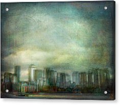 Acrylic Print featuring the photograph Cityscape #32. Chrystalhenge by Alfredo Gonzalez