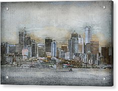 Cityscape Acrylic Print by Davina Washington