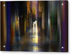 Cityscape Acrylic Print by Sol Marrades