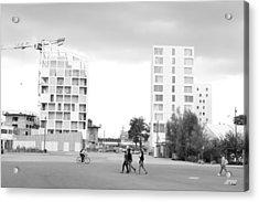 Cityscape Acrylic Print by Thomas Leon