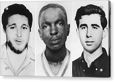 Civil Rights Workers Murdered Acrylic Print