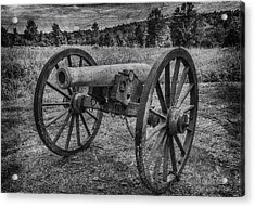 Civil War Cannon Acrylic Print