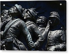 Civil War Figures Acrylic Print
