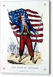 Civil War New York Zouave Acrylic Print