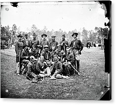 Civil War Officers, 1862 Acrylic Print