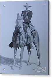Civil War Soldier  Acrylic Print by David Ackerson