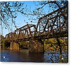 Civil War Trestle Acrylic Print