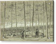 Civil War Union Army, 1864 Acrylic Print