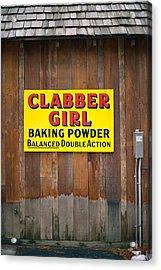 Clabber Girl Acrylic Print