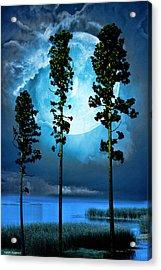 Clair De Lune Acrylic Print