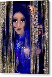 Clairvoyant Seven Acrylic Print by Patricia Motley
