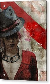 Acrylic Print featuring the digital art Clandestine by Galen Valle