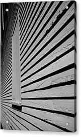 Clapboards Acrylic Print