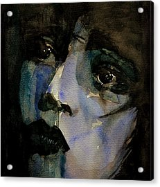 Clara Bow  Acrylic Print by Paul Lovering