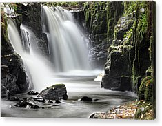 Clare Glens Waterfall Limerick Ireland Acrylic Print by Pierre Leclerc Photography