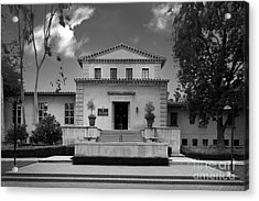 Claremont Graduate University Harper Hall Acrylic Print by University Icons