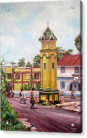 Claremont Square Acrylic Print