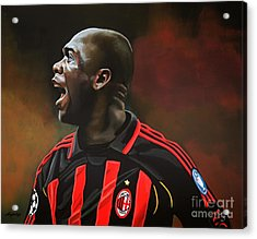 Clarence Seedorf Acrylic Print by Paul Meijering