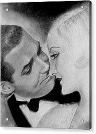Clark Gable And  Carole Lombard Acrylic Print