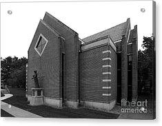 Clarke University Sacred Heart Chapel Acrylic Print by University Icons