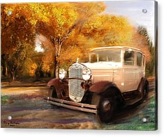 Clasis Ford Acrylic Print