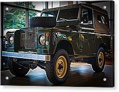 Classic 1969 Land Rover Series IIa Acrylic Print
