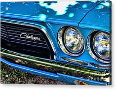 Classic 1974 Dodge Challenger Acrylic Print by Paul Ward
