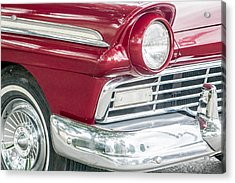 Acrylic Print featuring the photograph Classic 50s Style by Dawn Romine