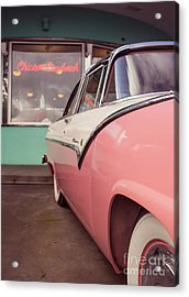 American Graffiti  Acrylic Print by Edward Fielding