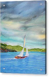 Classic Afternoon Acrylic Print by Teri  Jones