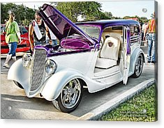 Acrylic Print featuring the photograph Classic Auto   by Dyle   Warren
