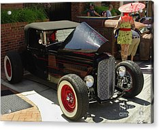 Classic Auto Show Acrylic Print by James C Thomas