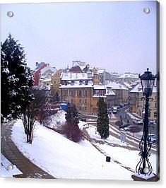 Classic Beauty Lublin Poland  Acrylic Print by Rick Todaro
