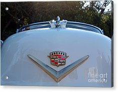 Classic Cadillac Badge Acrylic Print