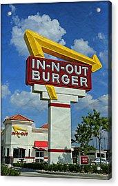 Classic Cali Burger 1.1 Acrylic Print