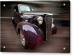 Classic Car Acrylic Print by Andre Faubert