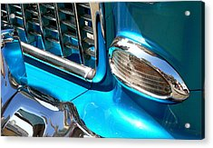 Acrylic Print featuring the photograph Classic Car As Art by Jeff Lowe