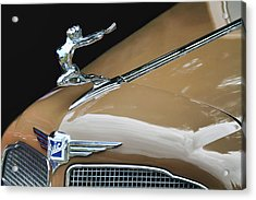 Classic Car - Buick Victoria Hood Ornament Acrylic Print by Peggy Collins