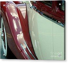 Classic Car Fender Acrylic Print