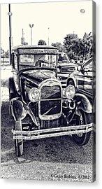 Classic Car Acrylic Print by Gerry Robins
