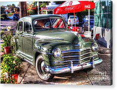 Acrylic Print featuring the photograph Classic Car by Kevin Ashley