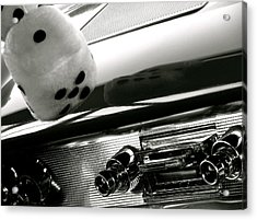 Classic Car Tunes Acrylic Print