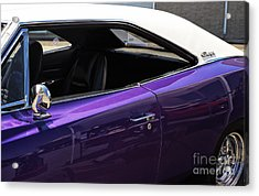 Classic Charger Acrylic Print by John Rizzuto