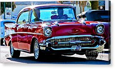 Classic Chevrolet Acrylic Print by Tap On Photo