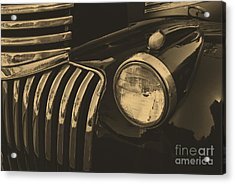 Acrylic Print featuring the photograph Classic Chevy One by John S