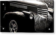 Classic Chevy Truck Acrylic Print by Optical Playground By MP Ray