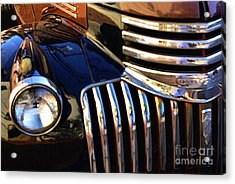 Acrylic Print featuring the photograph Classic Chevy Two by John S