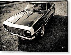 Classic Convertable Camaro  Acrylic Print