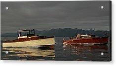 Lake Tahoe Classics Acrylic Print